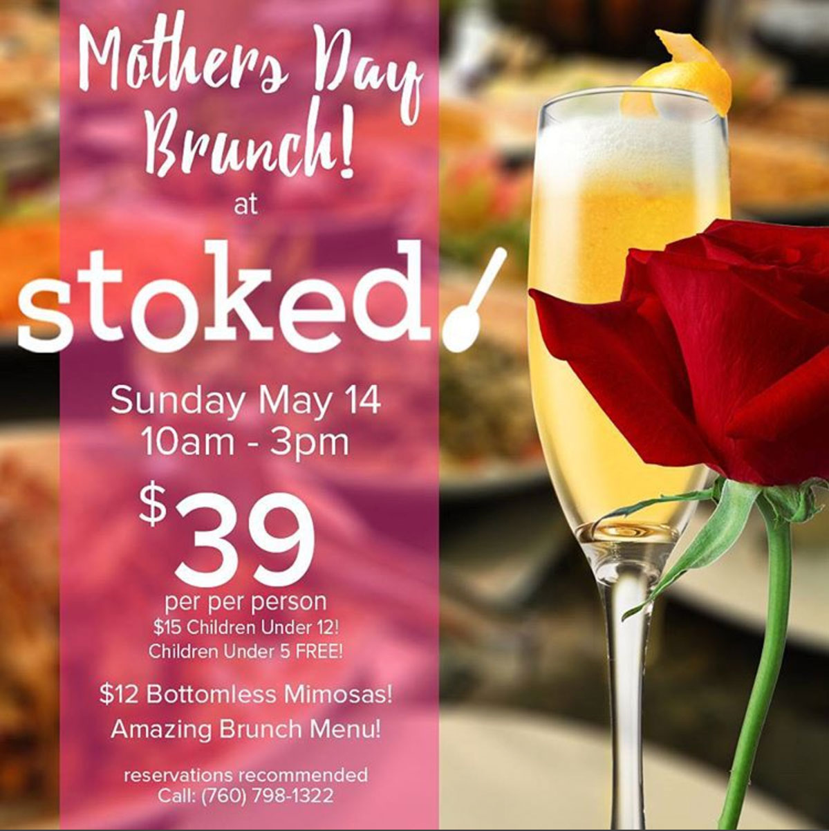 Mothers Day 2017 Cafe Stoked